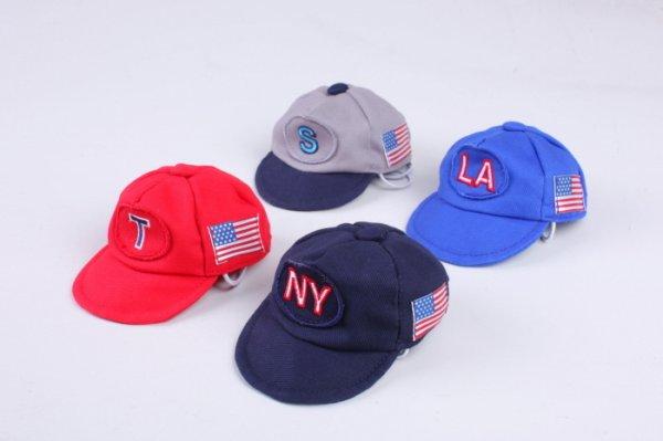 画像1: [犬の帽子]ベースボールCap(S,M,L) (1)
