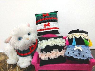 画像2: [犬のスカーフ]プリーツスカーフ