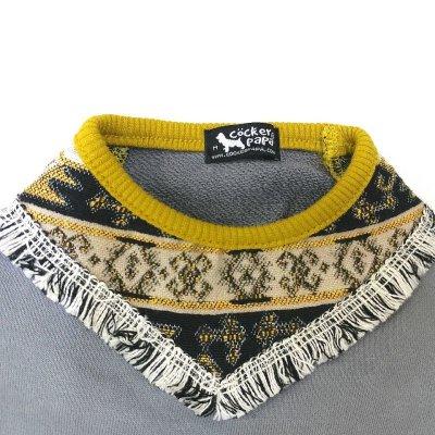 画像3: [犬服Tシャツ]スカーフフリンジT(XS〜XL)