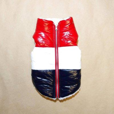 画像1: [大型犬服ジャンパー] フランスペディングベスト(6XL)
