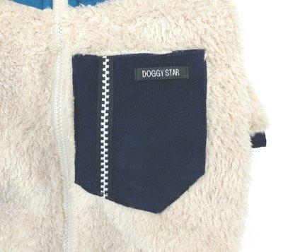 画像1: [ 犬服  ] アウトドアスタイルジップアップロングスリーブ(XS〜XL)