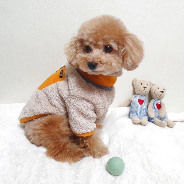 画像1: [ 犬服  ] アウトドアスタイルジップアップロングスリーブ(XS〜XL) (1)