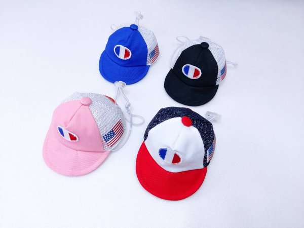 画像1: 犬の帽子 フランスベースボールCap (S,M,L) 即日出荷出来ます! (1)