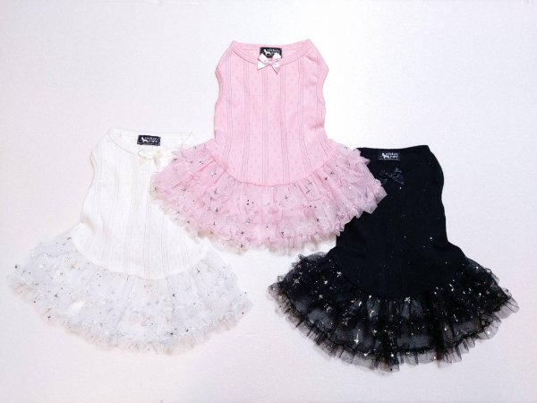 画像1: 「犬服ドレス、ワンピース 」 チュチュドレス(XS〜XL) (1)