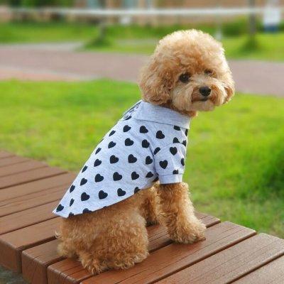 画像3: 「犬服ワンピース」 ♥ポロスタイルワンピース(XS〜XL)
