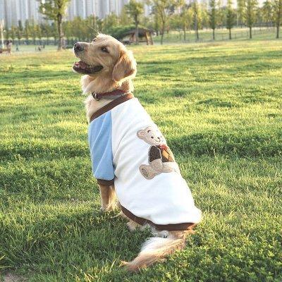 画像3: [大型犬服、ワンピース ]ベアーフリースワンピース(3XL)